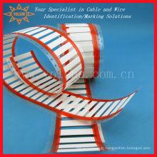 Carte d'identification utilisée pour l'impression par câble / tube thermorétractable