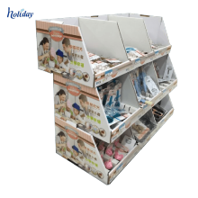 High Quality Cardboard Pallet Display For Water Bottle,Recycle Supermarket Pallet Display Stand