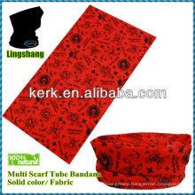 LSB55 Ningbo Lingshang Promotional Fashion 24*48 cm Multifunctional Seamless tube seamless fishing bandana