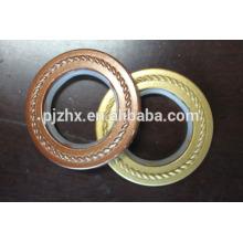 Cortinas européias 10cm Cortina Elelet Plastic Ring