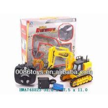 Crianças 6W rc caminhões de brinquedo de construção