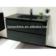 2013 Black High Gloss Traditional Bathroom Vanity Units