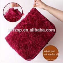 wuxi large home polyester shaggy carpet/summer sleeping mat