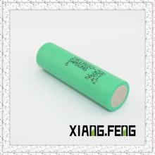 Batterie haute puissance de drainage pour Samsung 18650 25r 2500mAh 3.6V Cellule rechargeable