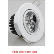 White Color Outer Shell Epistar 2835SMD LED Ddwn Light