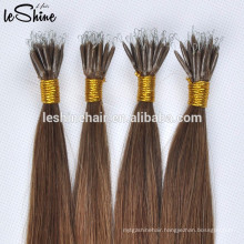 "8-32"" Pre Bonded Nail U Tip 8A Real Hair Extensions 1g /S 10g/pack dark color straight hair type"