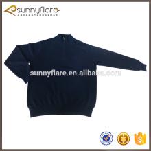 Suéter de jersey de cashmere 100% de punto para hombres