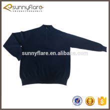 100% knitted cashmere pullover sweater for men