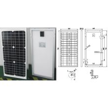 18V 30W 35W Monocrystalline Solar Power System Panel PV Module with Ce Approved