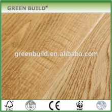Distressed natural engineered oak wood flooring