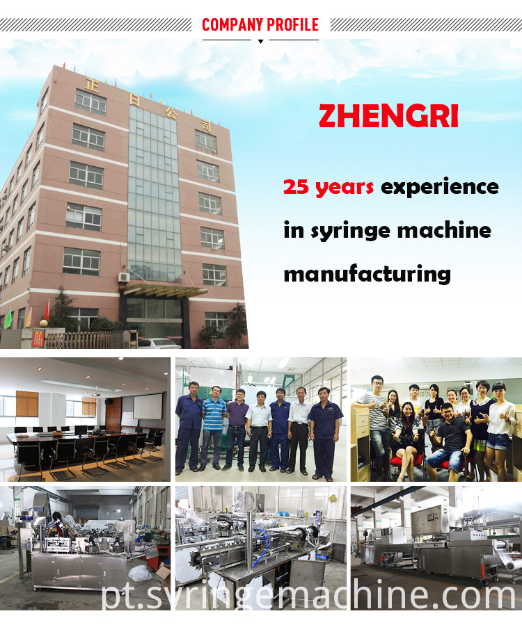 Syringe Automatic Making Machine