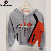 High quality Wholesale fashion style 100% Cotton children hoodies blank