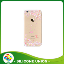 Food grade transparent silicone mobile phone set