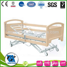 High quality extra low five function wooden hospital furniture