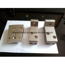 CNC Usinagem de peças com Eletroless niquelar chapeado