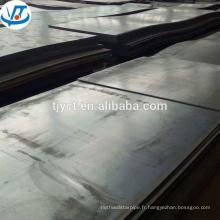 Résistant aux intempéries laminé à chaud décoration corten tôle d'acier prix