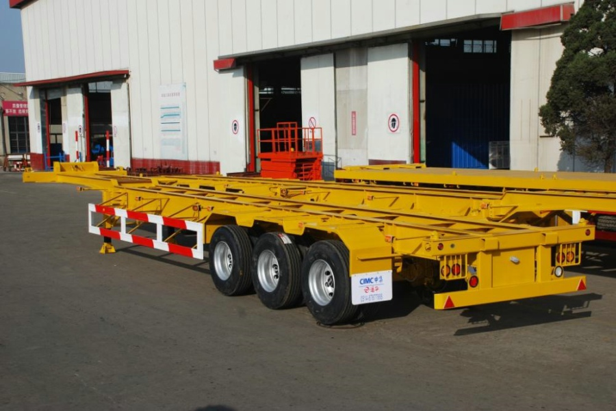 CIMC Container Chassis Gooseneck