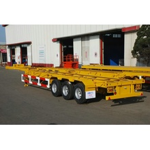 China for Container Semi-Trailer,Skeletal Semi-Trailer,Container Trailer Manufacturer in China CIMC Container Chassis Gooseneck supply to Gambia Suppliers