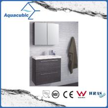Bathroom Vanity with Mirror Cabinet in Black (ACF8922)