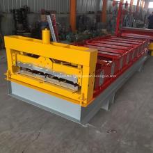 Máquina para fabricar láminas de paneles de techo IBR para techos de metal