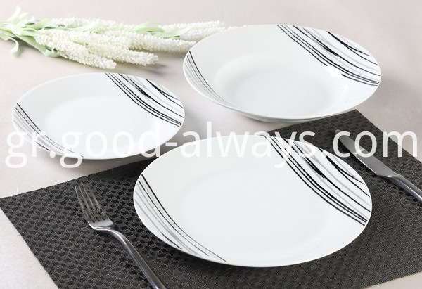12 Piece Porcelain Dinner Set