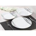 12 piezas porcelana cena Set Simple bosquejo