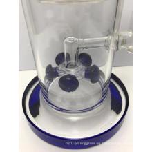 Tubos de vidrio para fumar con cinco filtros únicos