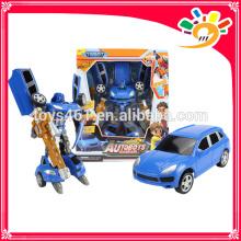Billig Auto verwandeln Roboter Modell Spielzeug Kunststoff Spielzeug für Kinder