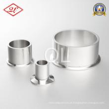 3A 304 / 316L Conector Sanitário Fita em Aço Inoxidável
