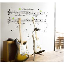 Música é minha vida tema música quarto decoração removível parede adesivo