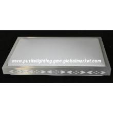 305*305mm Indoor aluminium and acrylic cover ceiling lamp