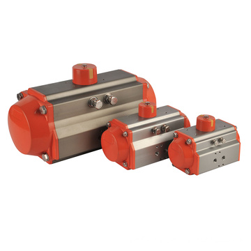 AT-50D double acting ball valve butterfly valve pneumatic actuator