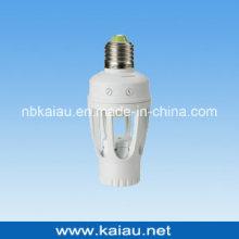 E27 / B22 Suporte de lâmpada de sensor PIR de 360 graus (KA-SLH01)