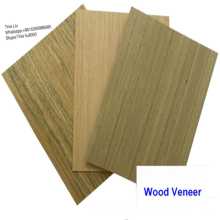 Placage d'ingénierie Placage de frêne Placage de bois fabriqué par l'homme