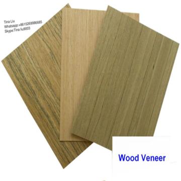 Engineering Veneer Ash Veneer Crown Cut Man Made Wood Veneer