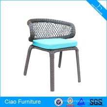 Outdoor furniture plastic wicker recline chair