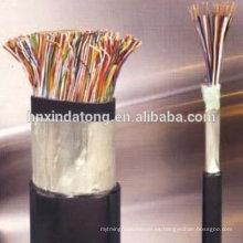 cables de comunicación de papel de aluminio de aislamiento