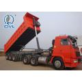HYVA Lifting 3 Axles 30-45 CBM Dump Trailer