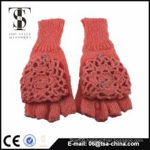 2015 fashion acrylic ladies winter glove