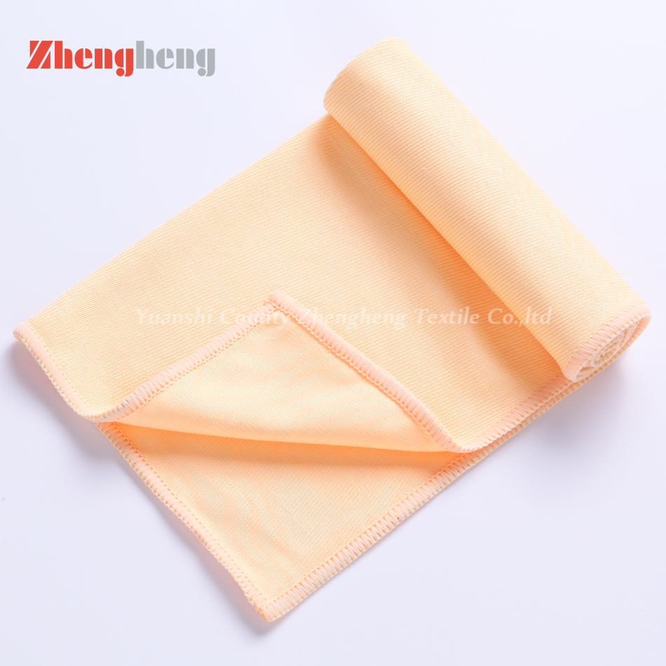 100% Microfiber Material Glass Cleaning Towel