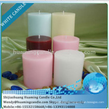 color scented Party decorated candle