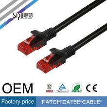 SIPU alta calidad CCA rj45 cat5 utp patch cable mejor precio utp cat5e patch cord 1 m 2 m 3 m al por mayor cat 5 cable de comunicación