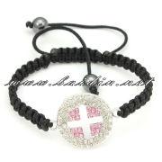 colorful diamond jewelry shamballa animal bracelet