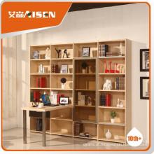 Armário de armazenamento de livros de fabricação profissional