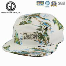 2016 lindos sublimación que imprime el sombrero del campista de Snapback con el logotipo modificado para requisitos particulares