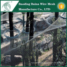 Good quality stainless steel wire mesh fence net for aviary