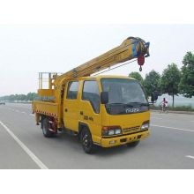 جديد رافعة سيارات ISUZU crane cherry picker lift bucket