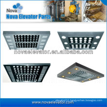 Customized Elevators Components / Parts, Passenger Elevator Ceiling for Elevator Cabin