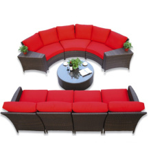 H-China Outdoor Furniture Wicker/Rattan Sofa for 2016 New Style