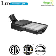 150W Dimmable sensor LED Shoebox Iluminación